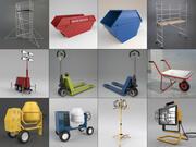 Industrie-Set 3d model