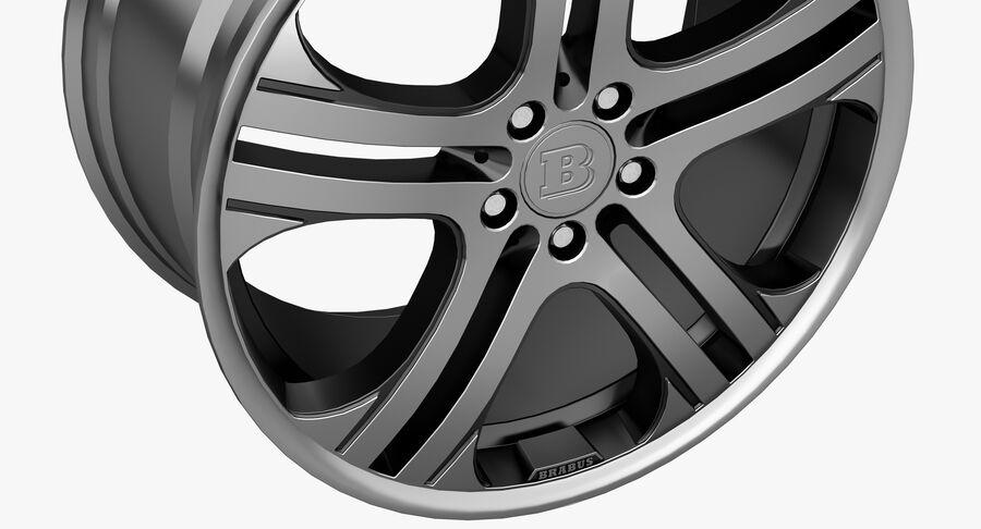 Rims Collection - Asanti & Brabus & HRE & Lexani & Rotiform & Vossen & Vorsteiner & WALD royalty-free 3d model - Preview no. 16