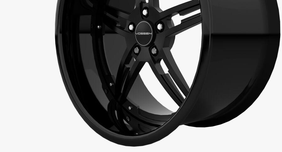 Rims Collection - Asanti & Brabus & HRE & Lexani & Rotiform & Vossen & Vorsteiner & WALD royalty-free 3d model - Preview no. 29