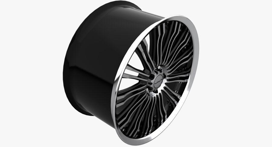 Rims Collection - Asanti & Brabus & HRE & Lexani & Rotiform & Vossen & Vorsteiner & WALD royalty-free 3d model - Preview no. 49