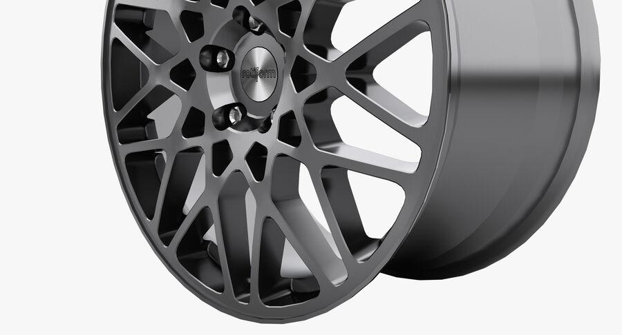 Rims Collection - Asanti & Brabus & HRE & Lexani & Rotiform & Vossen & Vorsteiner & WALD royalty-free 3d model - Preview no. 44