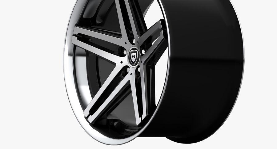 Rims Collection - Asanti & Brabus & HRE & Lexani & Rotiform & Vossen & Vorsteiner & WALD royalty-free 3d model - Preview no. 10