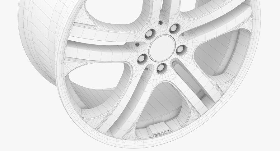 Rims Collection - Asanti & Brabus & HRE & Lexani & Rotiform & Vossen & Vorsteiner & WALD royalty-free 3d model - Preview no. 60