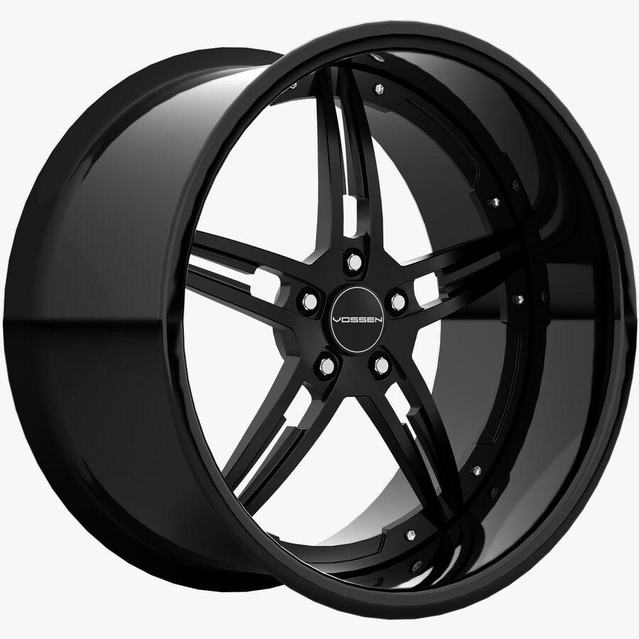 Rims Collection - Asanti & Brabus & HRE & Lexani & Rotiform & Vossen & Vorsteiner & WALD royalty-free 3d model - Preview no. 27
