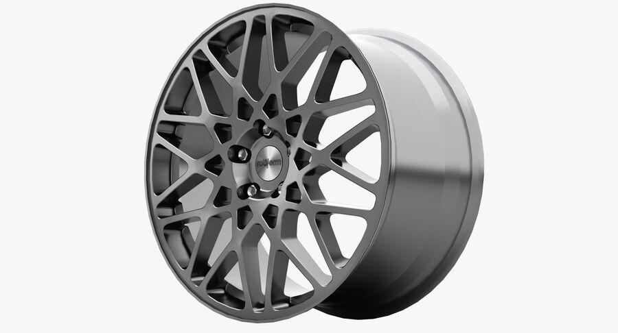 Rims Collection - Asanti & Brabus & HRE & Lexani & Rotiform & Vossen & Vorsteiner & WALD royalty-free 3d model - Preview no. 43