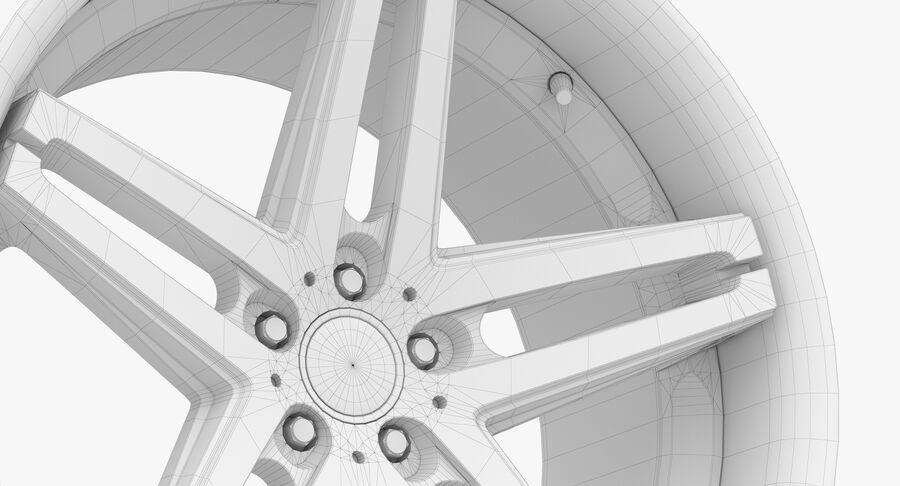 Rims Collection - Asanti & Brabus & HRE & Lexani & Rotiform & Vossen & Vorsteiner & WALD royalty-free 3d model - Preview no. 57