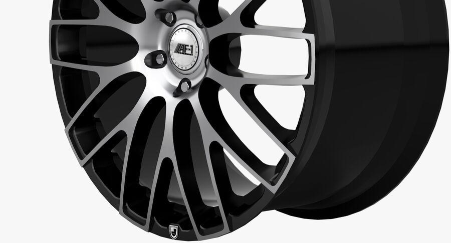 Rims Collection - Asanti & Brabus & HRE & Lexani & Rotiform & Vossen & Vorsteiner & WALD royalty-free 3d model - Preview no. 19