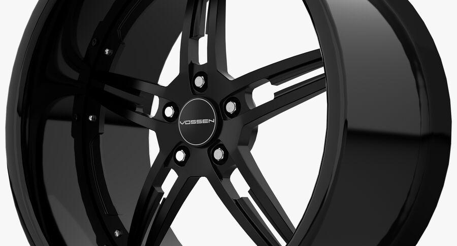 Rims Collection - Asanti & Brabus & HRE & Lexani & Rotiform & Vossen & Vorsteiner & WALD royalty-free 3d model - Preview no. 30