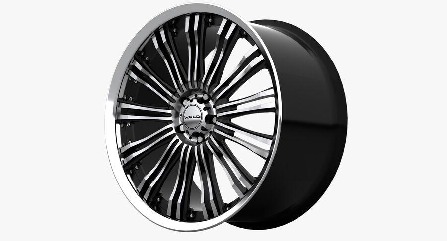 Rims Collection - Asanti & Brabus & HRE & Lexani & Rotiform & Vossen & Vorsteiner & WALD royalty-free 3d model - Preview no. 50