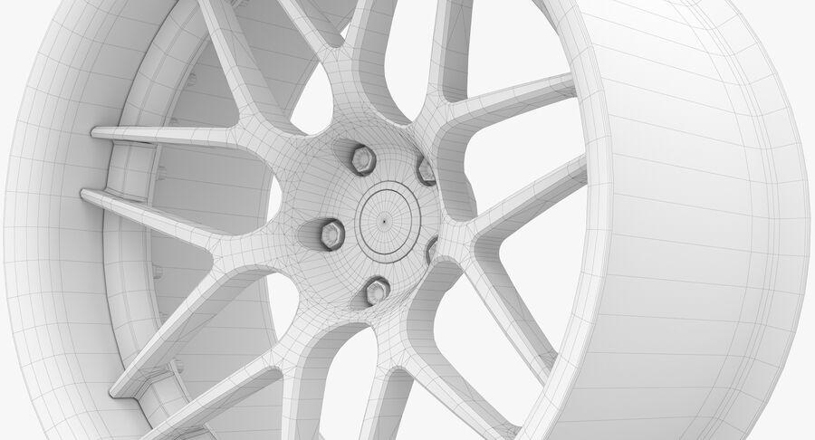 Rims Collection - Asanti & Brabus & HRE & Lexani & Rotiform & Vossen & Vorsteiner & WALD royalty-free 3d model - Preview no. 68