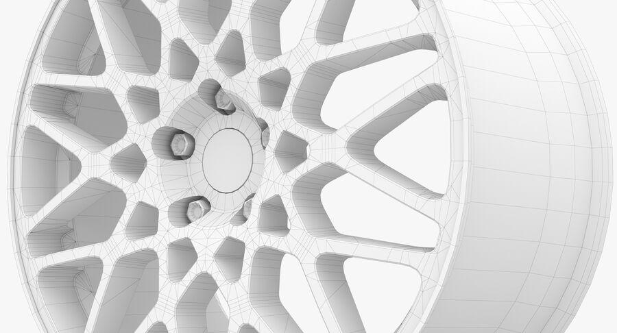 Rims Collection - Asanti & Brabus & HRE & Lexani & Rotiform & Vossen & Vorsteiner & WALD royalty-free 3d model - Preview no. 83