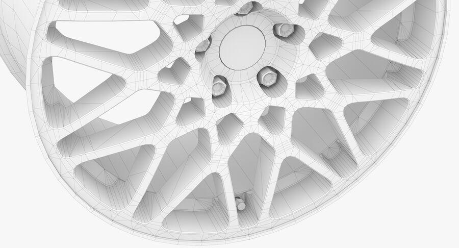 Rims Collection - Asanti & Brabus & HRE & Lexani & Rotiform & Vossen & Vorsteiner & WALD royalty-free 3d model - Preview no. 84