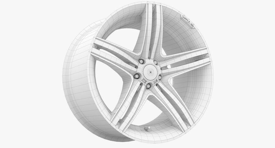 Rims Collection - Asanti & Brabus & HRE & Lexani & Rotiform & Vossen & Vorsteiner & WALD royalty-free 3d model - Preview no. 78