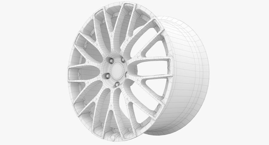 Rims Collection - Asanti & Brabus & HRE & Lexani & Rotiform & Vossen & Vorsteiner & WALD royalty-free 3d model - Preview no. 63