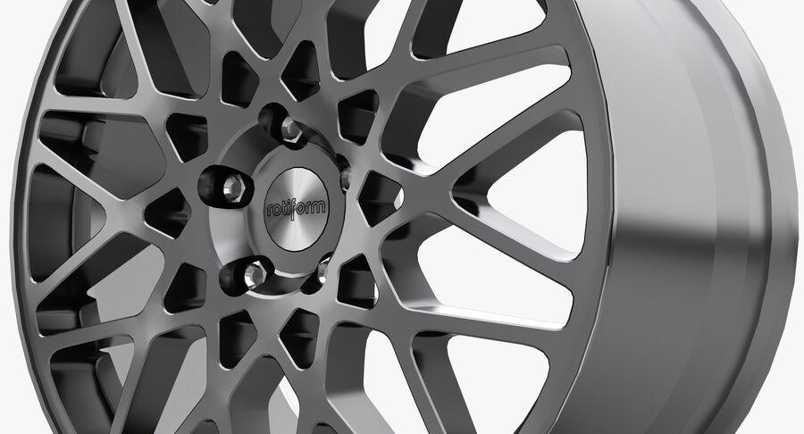 Rims Collection - Asanti & Brabus & HRE & Lexani & Rotiform & Vossen & Vorsteiner & WALD royalty-free 3d model - Preview no. 45