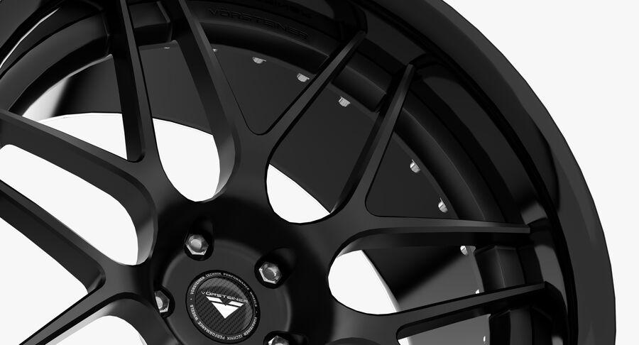 Rims Collection - Asanti & Brabus & HRE & Lexani & Rotiform & Vossen & Vorsteiner & WALD royalty-free 3d model - Preview no. 26