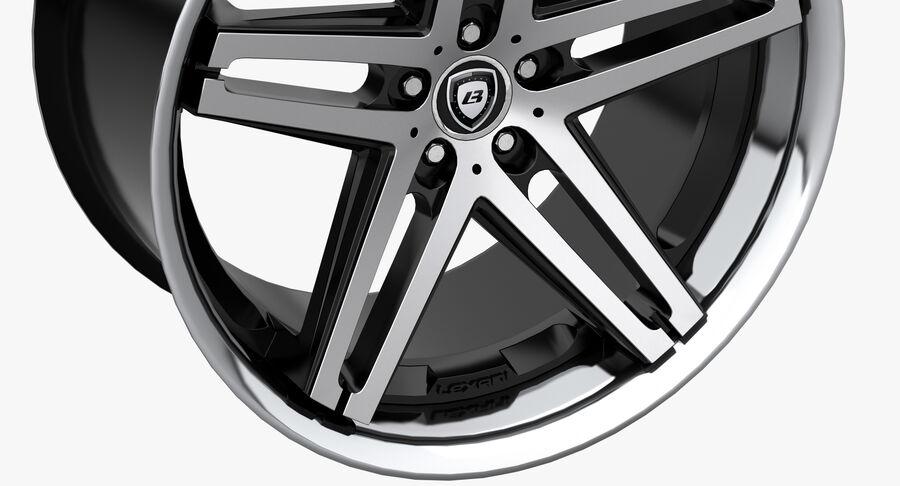 Rims Collection - Asanti & Brabus & HRE & Lexani & Rotiform & Vossen & Vorsteiner & WALD royalty-free 3d model - Preview no. 11