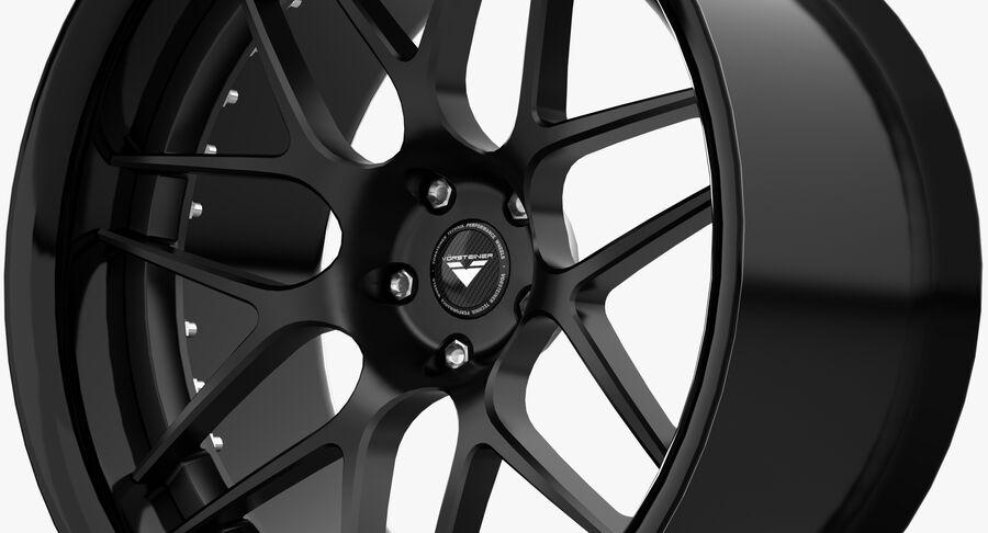 Rims Collection - Asanti & Brabus & HRE & Lexani & Rotiform & Vossen & Vorsteiner & WALD royalty-free 3d model - Preview no. 25