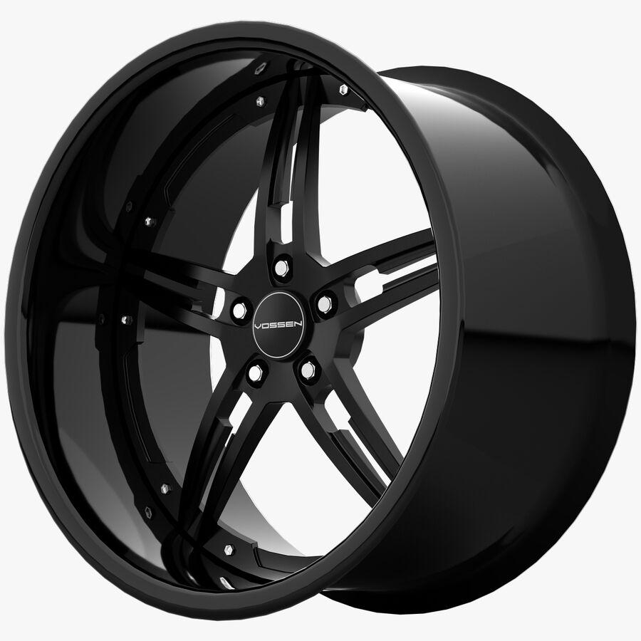 Rims Collection - Asanti & Brabus & HRE & Lexani & Rotiform & Vossen & Vorsteiner & WALD royalty-free 3d model - Preview no. 28