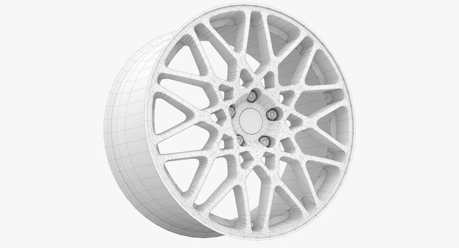 Rims Collection - Asanti & Brabus & HRE & Lexani & Rotiform & Vossen & Vorsteiner & WALD royalty-free 3d model - Preview no. 82