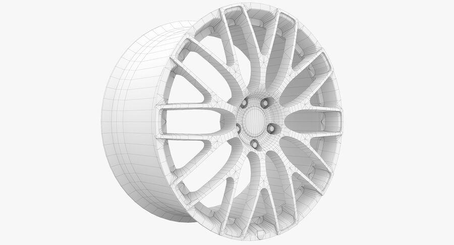 Rims Collection - Asanti & Brabus & HRE & Lexani & Rotiform & Vossen & Vorsteiner & WALD royalty-free 3d model - Preview no. 62