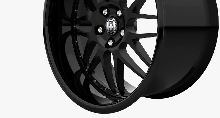 Rims Collection - Asanti & Brabus & HRE & Lexani & Rotiform & Vossen & Vorsteiner & WALD royalty-free 3d model - Preview no. 34