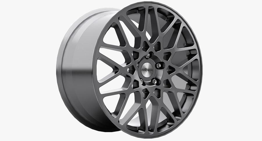 Rims Collection - Asanti & Brabus & HRE & Lexani & Rotiform & Vossen & Vorsteiner & WALD royalty-free 3d model - Preview no. 42