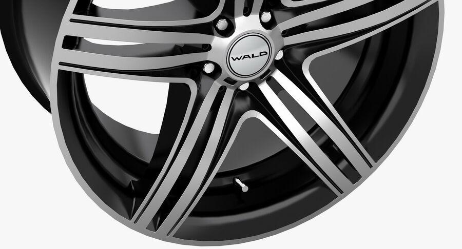 Rims Collection - Asanti & Brabus & HRE & Lexani & Rotiform & Vossen & Vorsteiner & WALD royalty-free 3d model - Preview no. 40