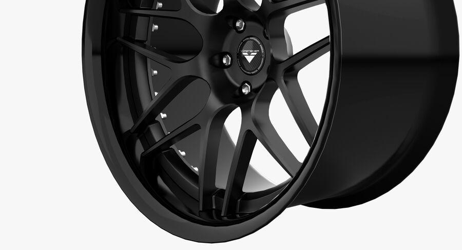 Rims Collection - Asanti & Brabus & HRE & Lexani & Rotiform & Vossen & Vorsteiner & WALD royalty-free 3d model - Preview no. 24