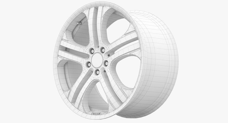 Rims Collection - Asanti & Brabus & HRE & Lexani & Rotiform & Vossen & Vorsteiner & WALD royalty-free 3d model - Preview no. 59