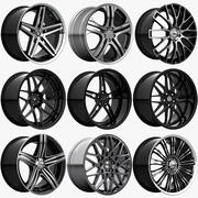 Rims Collection - Asanti & Brabus & HRE & Lexani & Rotiform & Vossen & Vorsteiner & WALD 3d model