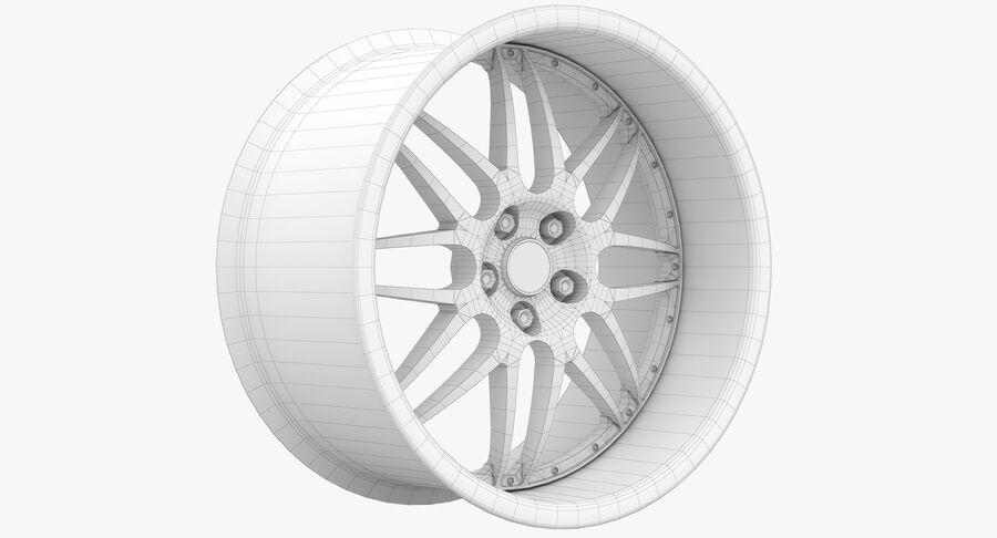 Rims Collection - Asanti & Brabus & HRE & Lexani & Rotiform & Vossen & Vorsteiner & WALD royalty-free 3d model - Preview no. 74