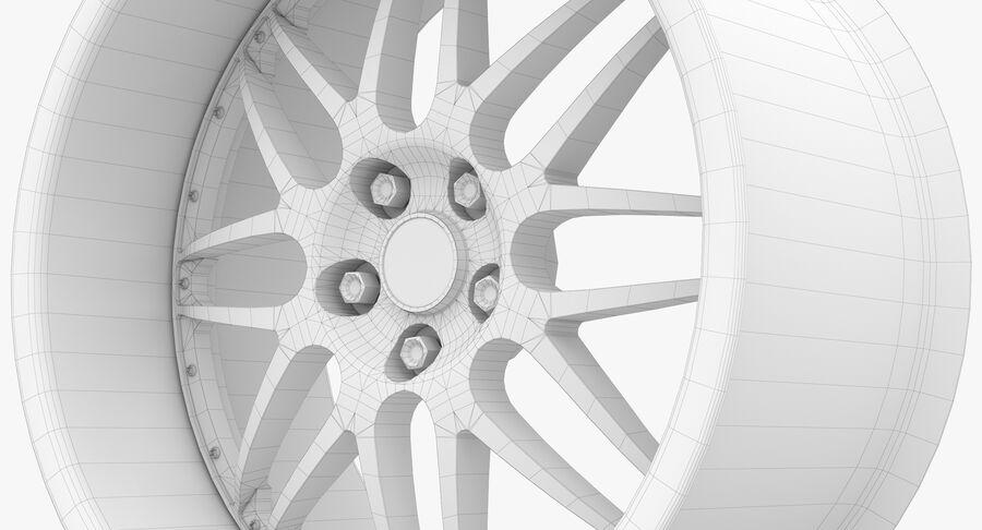 Rims Collection - Asanti & Brabus & HRE & Lexani & Rotiform & Vossen & Vorsteiner & WALD royalty-free 3d model - Preview no. 76