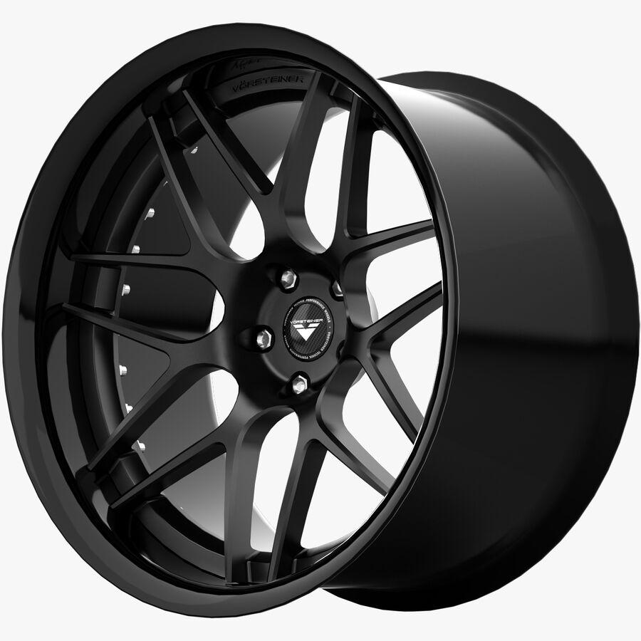 Rims Collection - Asanti & Brabus & HRE & Lexani & Rotiform & Vossen & Vorsteiner & WALD royalty-free 3d model - Preview no. 23
