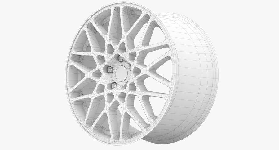 Rims Collection - Asanti & Brabus & HRE & Lexani & Rotiform & Vossen & Vorsteiner & WALD royalty-free 3d model - Preview no. 85