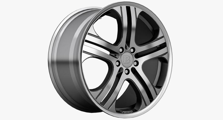 Rims Collection - Asanti & Brabus & HRE & Lexani & Rotiform & Vossen & Vorsteiner & WALD royalty-free 3d model - Preview no. 12