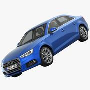 Audi A4 2016 3d model