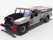 ドリフトランナー鉱山クルーザー石炭車 3d model