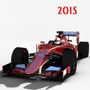 F1 2015 3d model