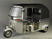 Autorickshaw 3d model