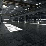 Basfabrikens interiör 3d model
