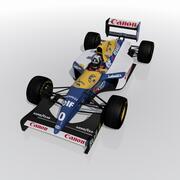 Williams FW15C 3d model