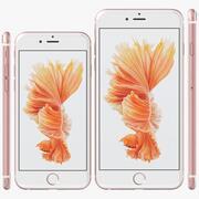 iPhone 6S 및 6S Plus 모든 색상 3d model