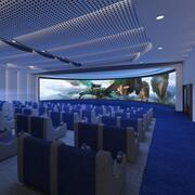 Cinema 1 3d model