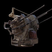 Anti Aircraft Gun 3d model