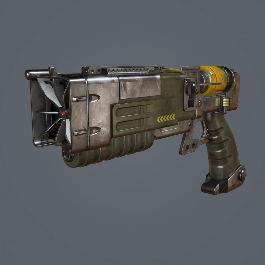 Laser Pistol royalty-free 3d model - Preview no. 1