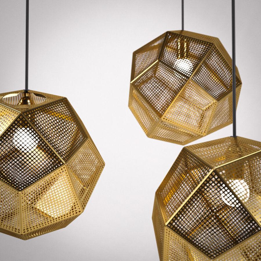 tom dixon etch shade brass 3d model 15 obj max fbx. Black Bedroom Furniture Sets. Home Design Ideas