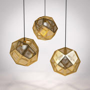 Tom Dixon Etch Shade Brass 3d model