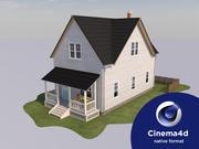 House_C4D 3d model