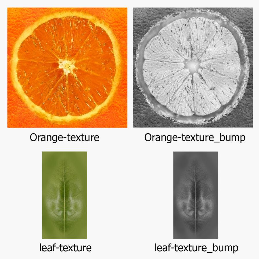Orange frukt royalty-free 3d model - Preview no. 23
